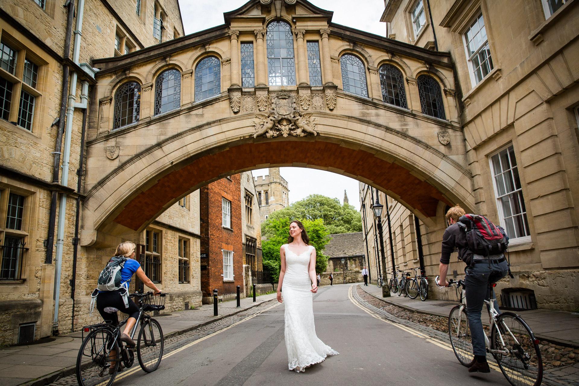 Bride in Oxford