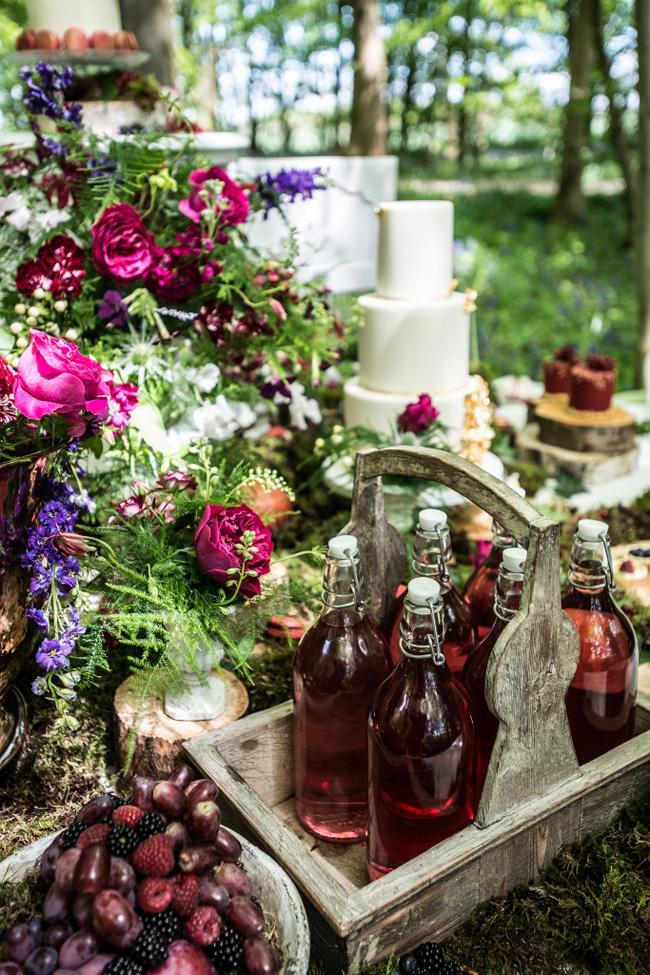 Woodland Wedding Inspiration With Vintage Jenny Packham