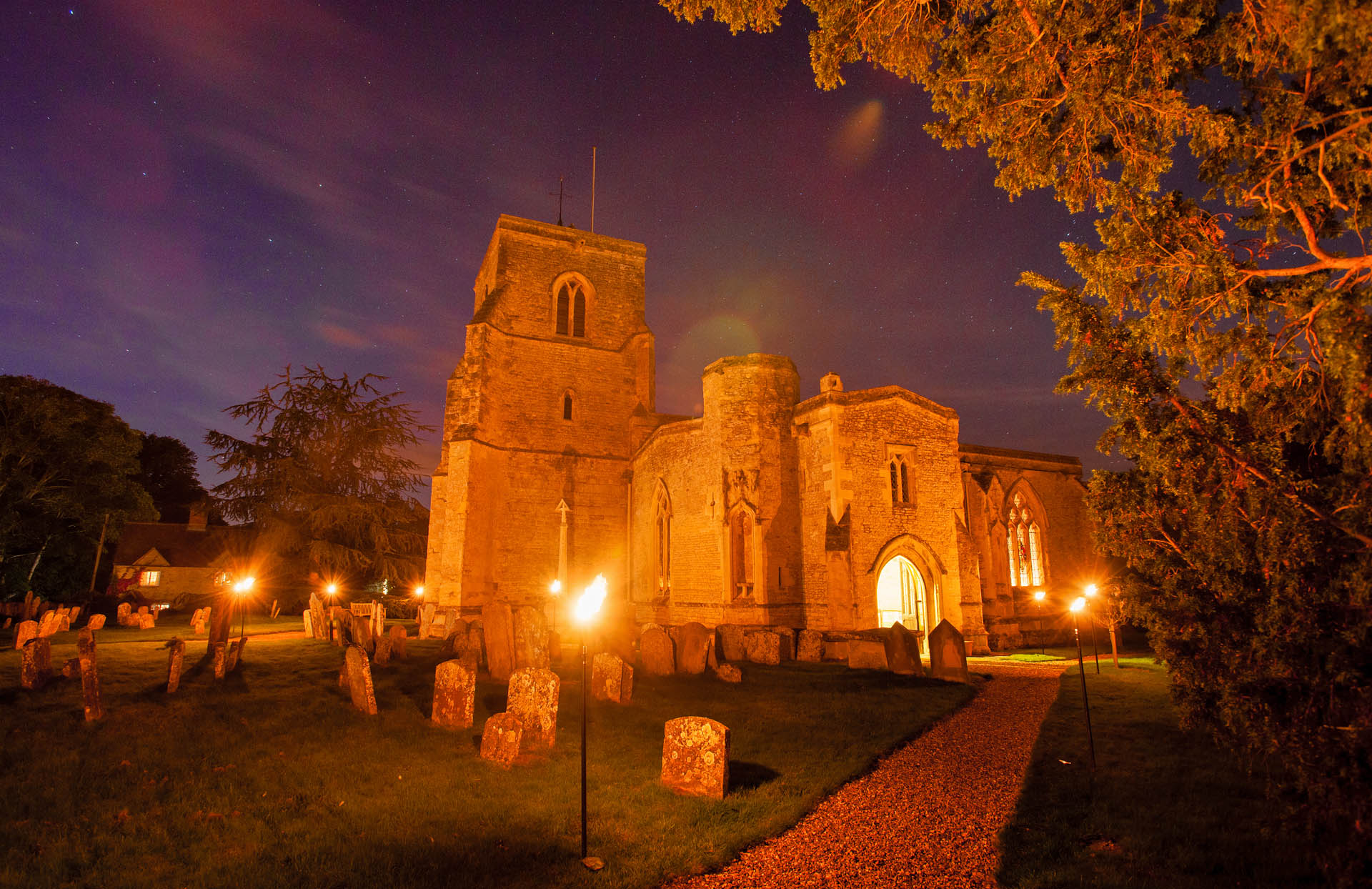 St Mary's Church at Night