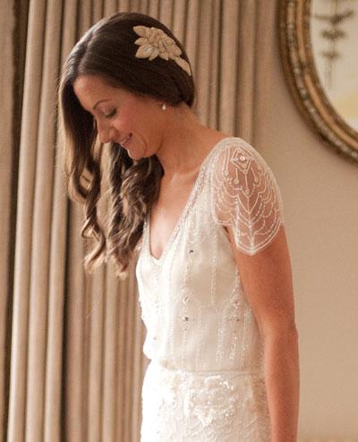 Our Bride Fiona in Jenny Packham Eden - Ellie Sanderson