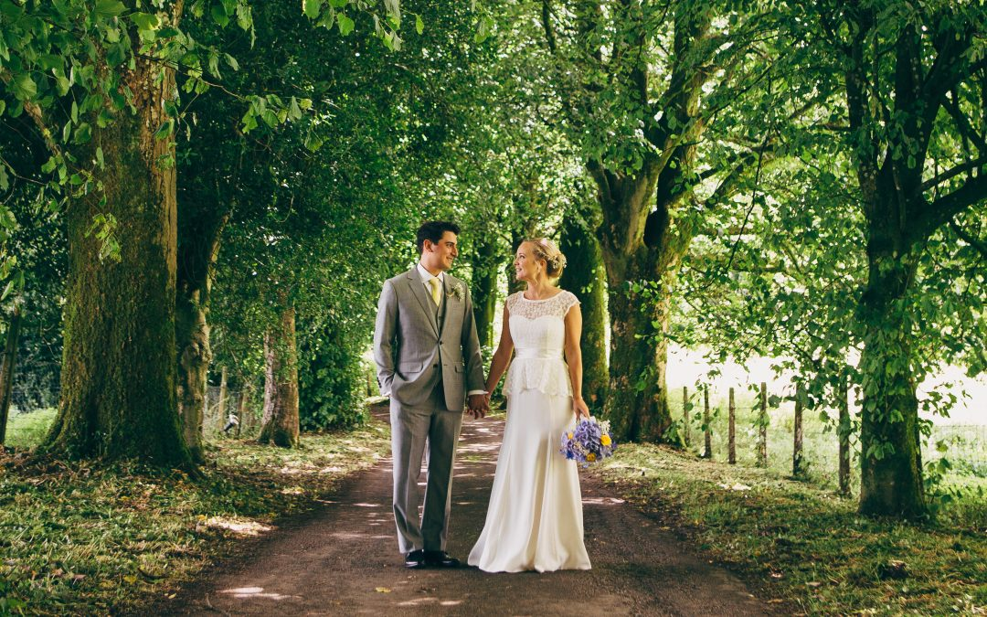Our bride Hannah in Sian by Sassi Holford