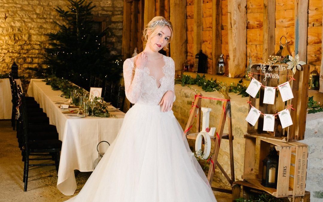Manor Farm Barn Winter Wedding Inspiration