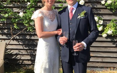 Our Bride Phoebe in Halfpenny London