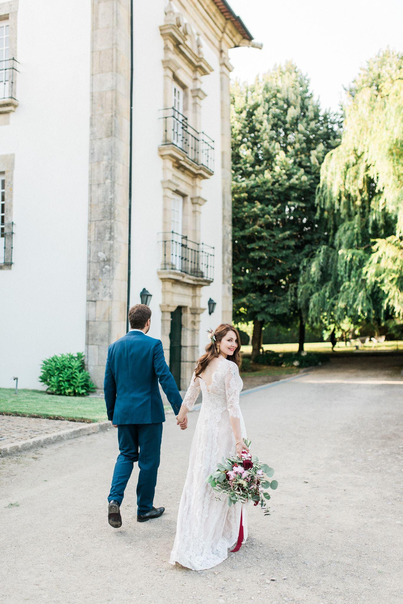cassandra on her wedding day