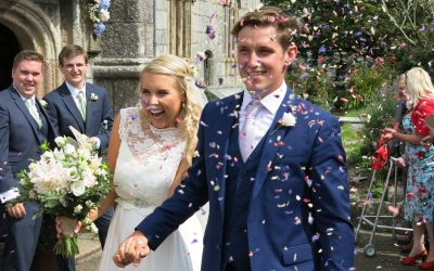 Real Bride! | Claire's Cornish Wedding in Charlie Brear