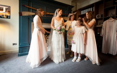 Real Bride! | Faye's Oxford Wedding in Halfpenny London