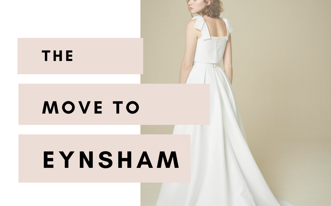 We're Moving to Eynsham