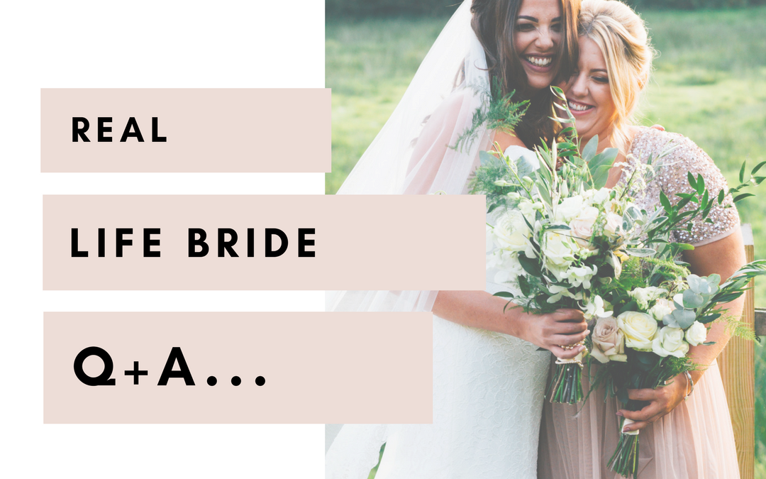 Real Life Bride Q+A | Lauren