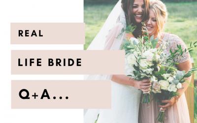 Real Life Bride Q+A | Lauren