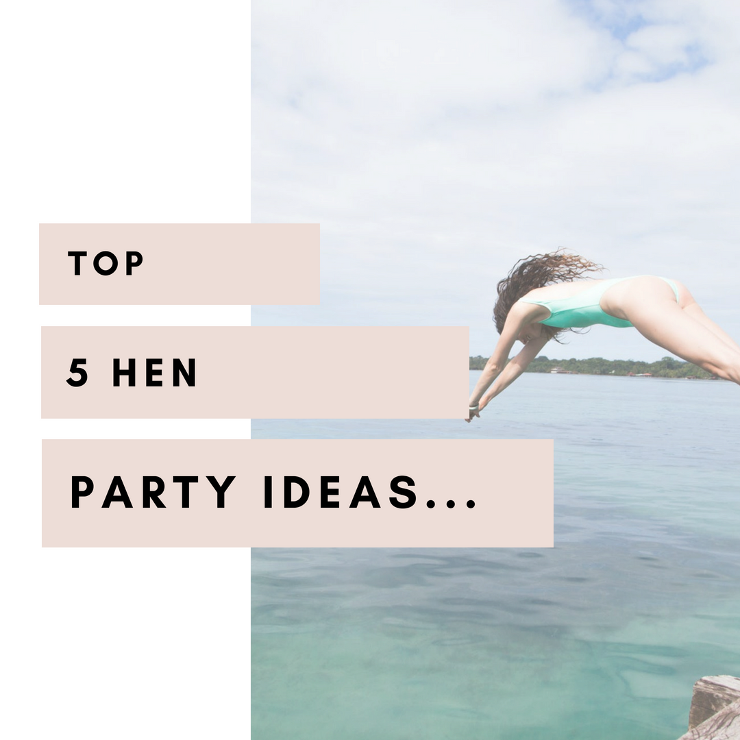 Top 5 hen party ideas for the alternative bride to be