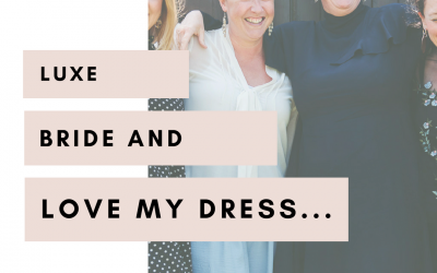Update from Ellie| Luxe Bride & Love My Dress