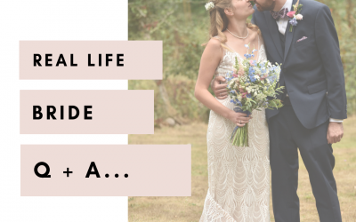 Real Life Bride Q+A | Annabelle