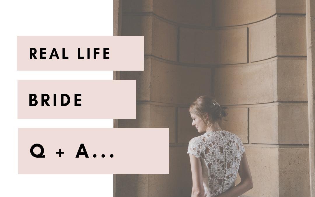 Real Life Bride Q+A | India