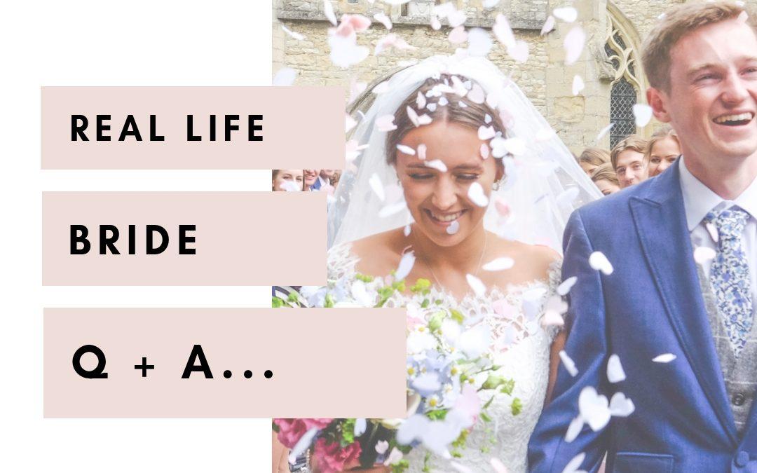 Real Life Bride Q+A | Fran
