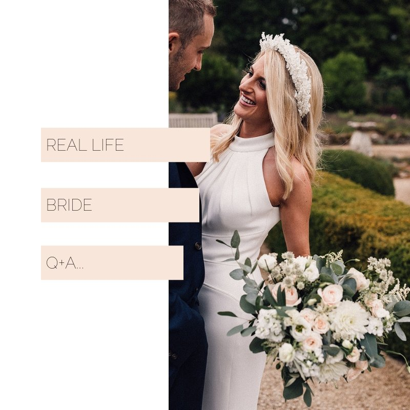 Real Brides Suzanne Neville: Ellie Sanderson Real Life Bride In Suzanne Neville At