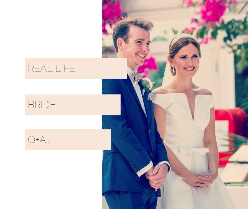 Real life bride Q+A | Liz