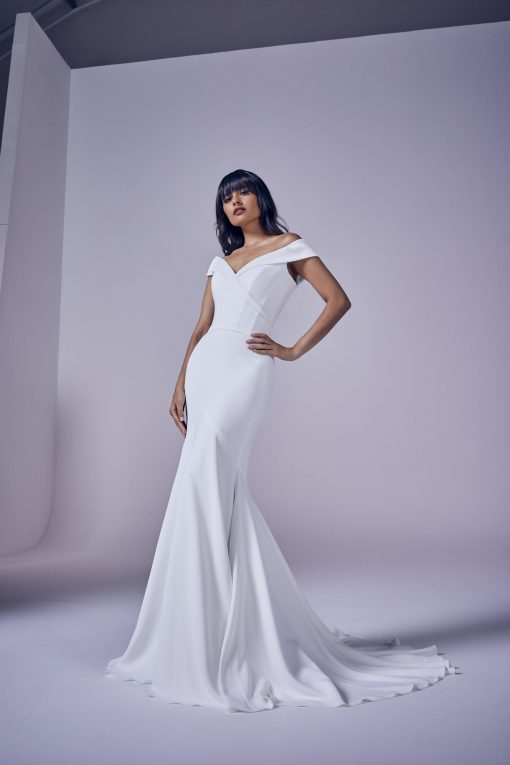 bride wearing forever by Suzanne Neville