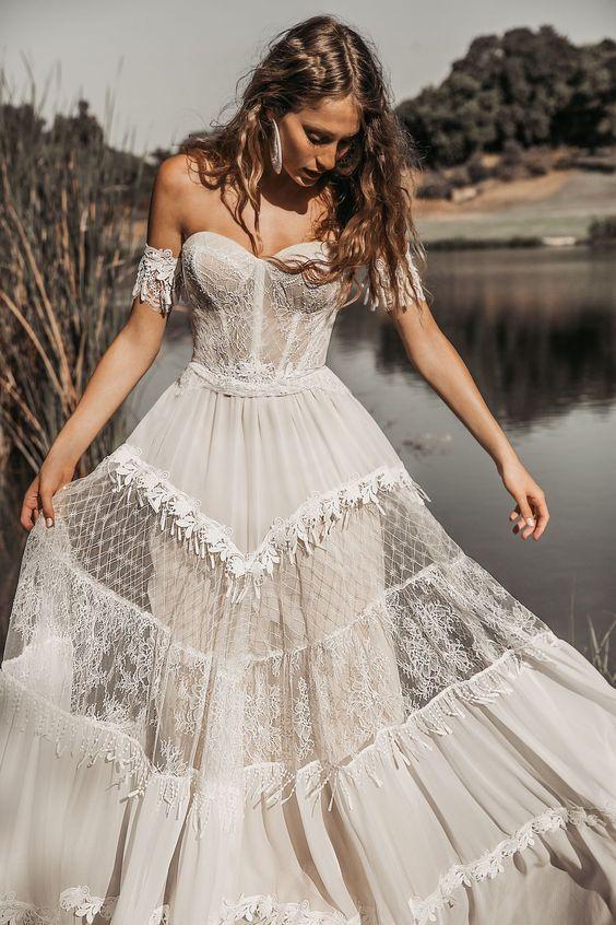 Everly wedding dress by Rish Bridal