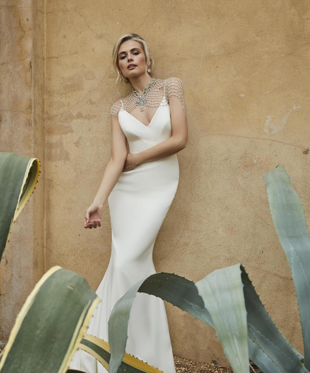 Saskia wedding dress by Sassi Holford