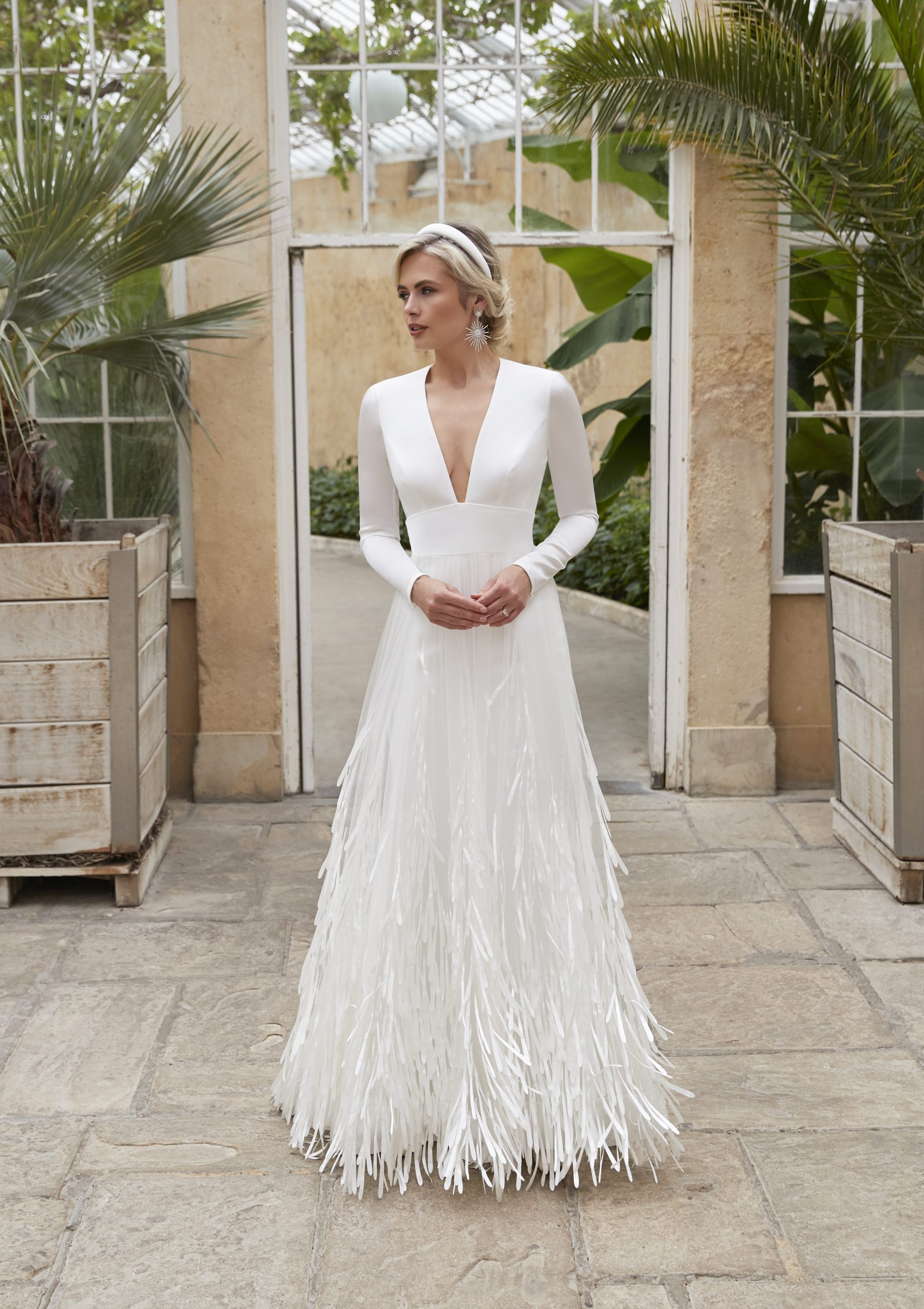Sassi Holford Riva wedding dress