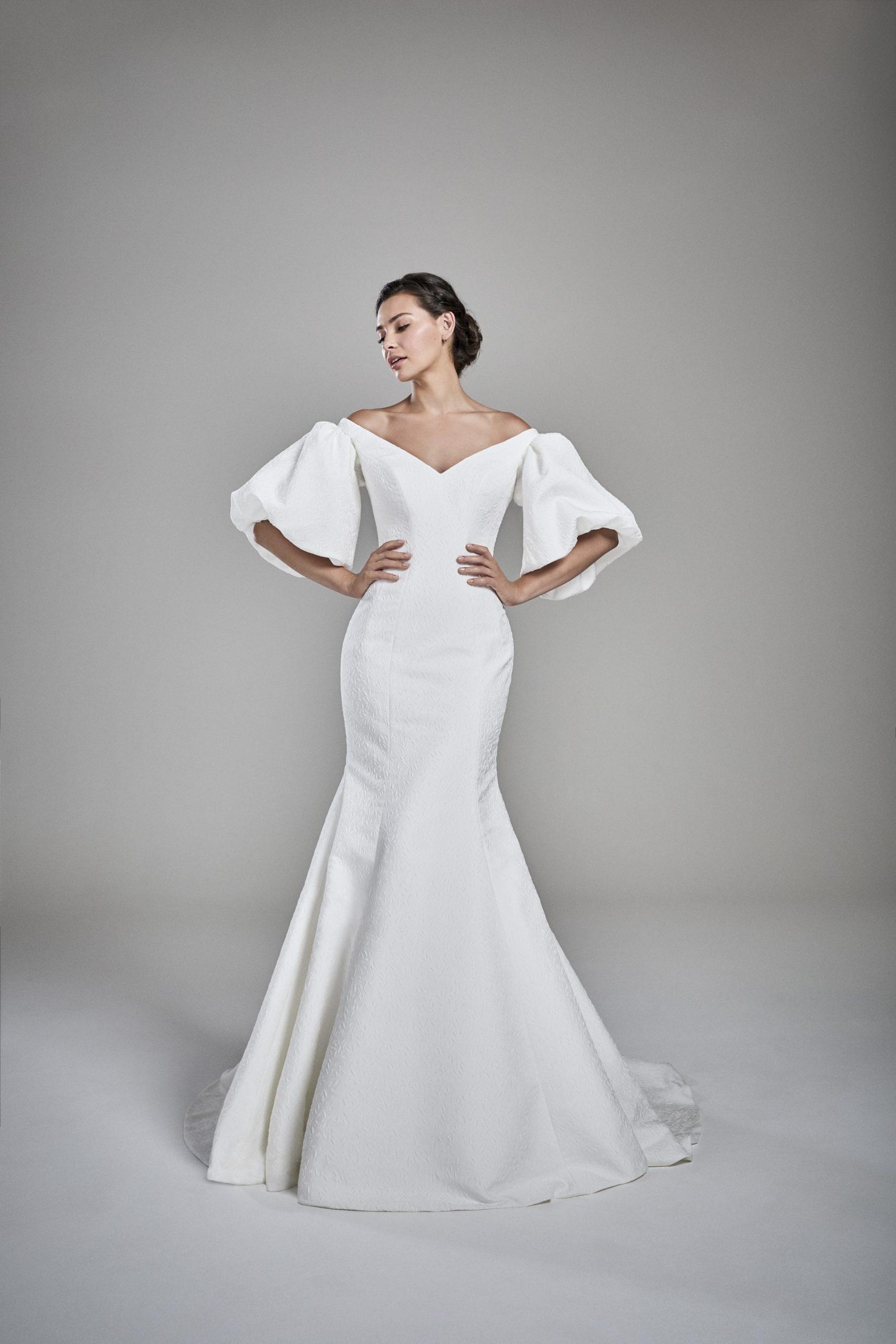 Suzanne Neville Aveline wedding dress