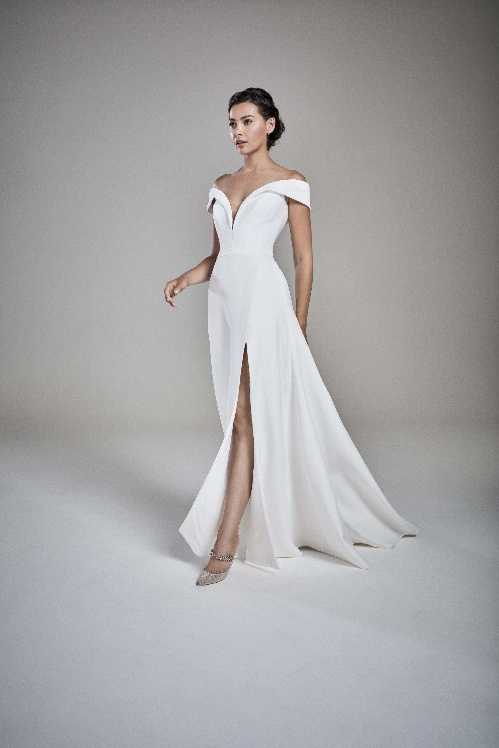 Suzanne Neville Gabrielle wedding dress